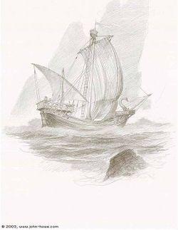 Earendil's ship, Vingilot.