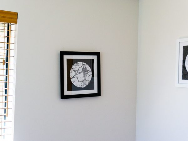 Maria Goeppert Mayer Original Artwork - Black Frame