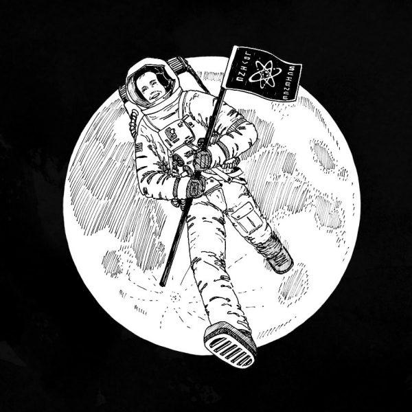 Neil Armstrong Original Artwork