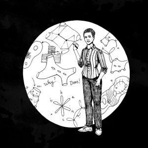 Maryam Mirzakhani Original Artwork