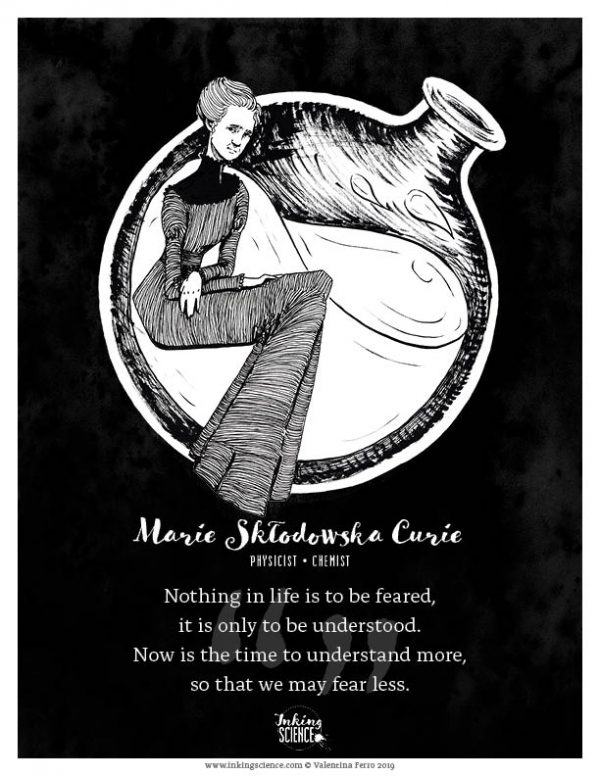 Marie Curie Limited Edition Print