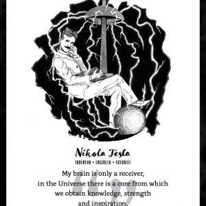Nikola Tesla Limited Edition Art Print