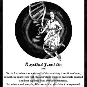 Rosalind Franklin Limited Edition Art Print