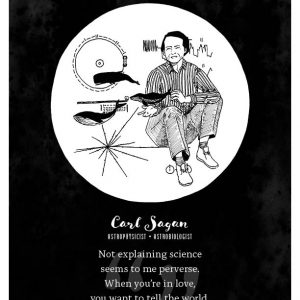 Carl Sagan Limited Edition Print