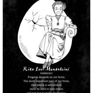 Rita Levi-Montalcini Limited Edition Print