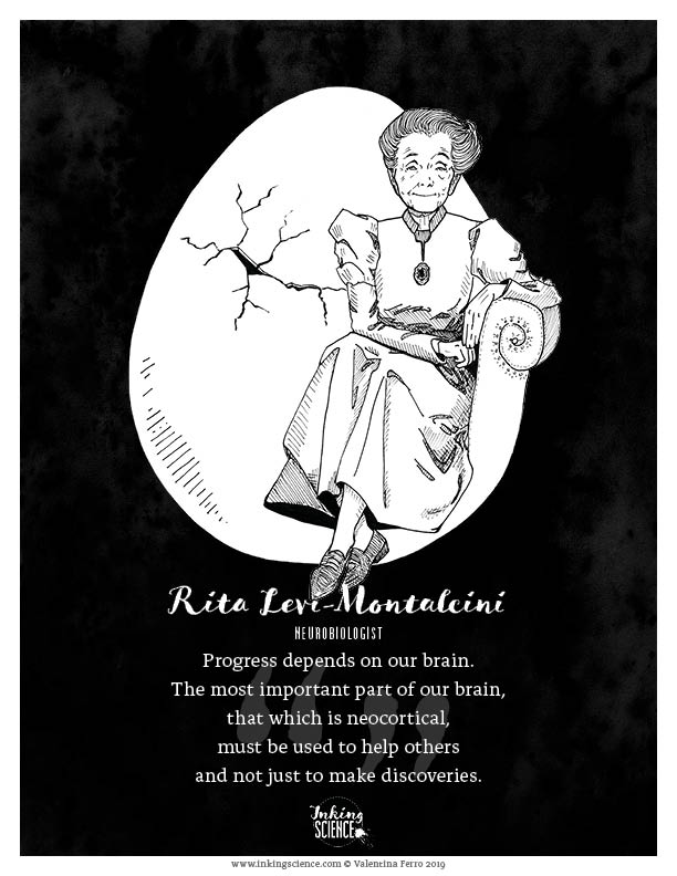 Rita Levi-Montalcini Limited Edition Art Print