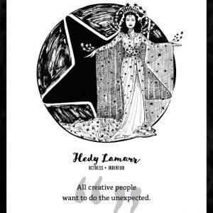 Hedy Lamarr Limited Edition Art Print