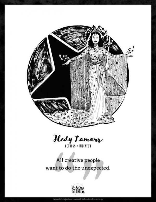 Hedy Lamarr Limited Edition Art Print