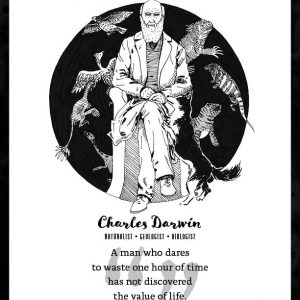 Charles Darwin Limited Edition Art Print