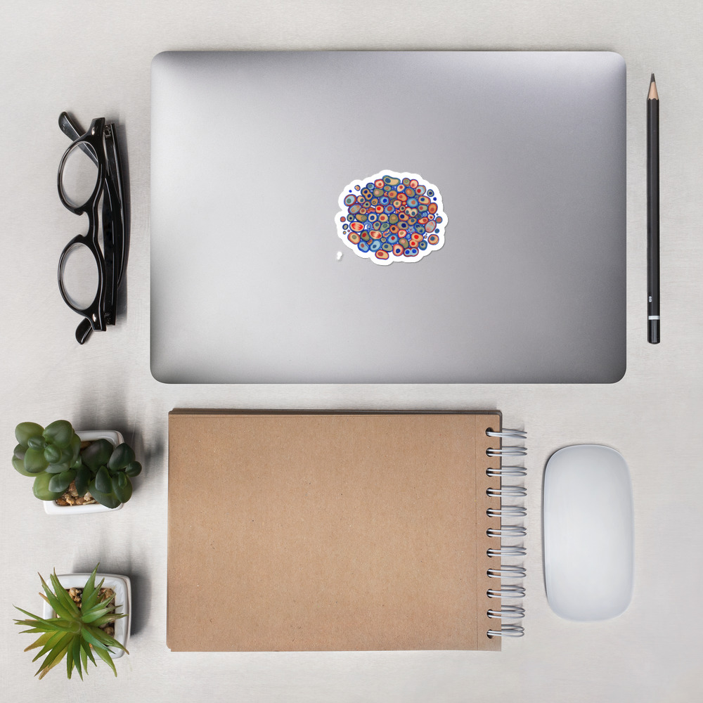 Cell Pattern stickers