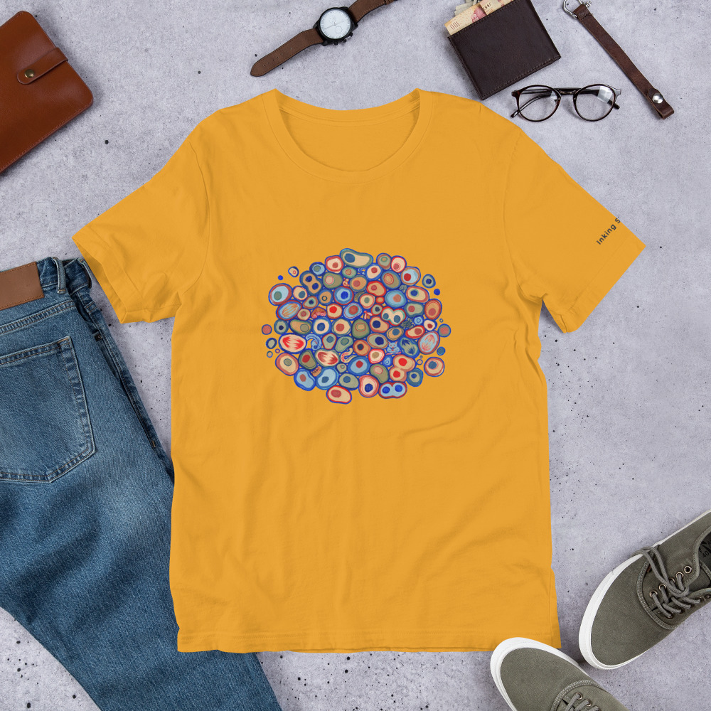Cell Pattern Unisex T-Shirt